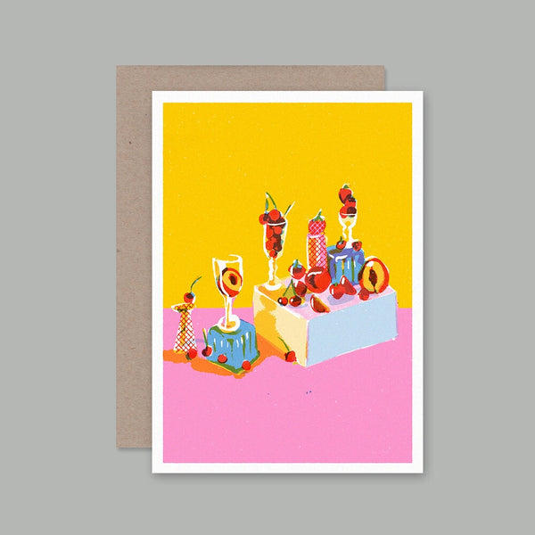 AHD greetings cards - Still Life with Fruit