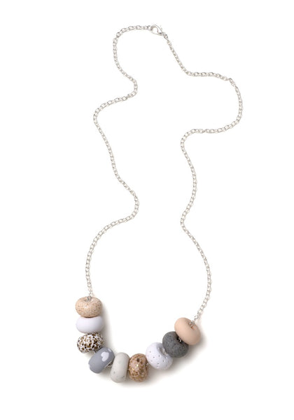 Emily Green - Bianca 9 Bead Necklace