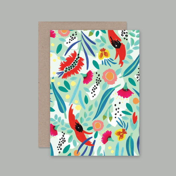 AHD greetings cards - Abstract Oz