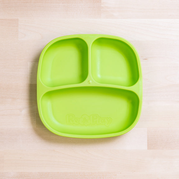 Re-Play - Divided Plate - Green