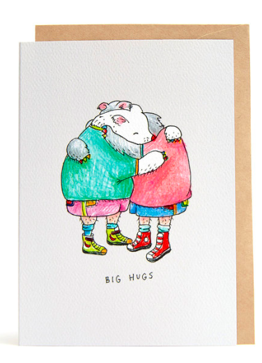 Wally Paper Co Cards - Bear Hugs