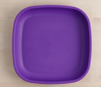 Re-Play - Flat Plate-  Amethyst