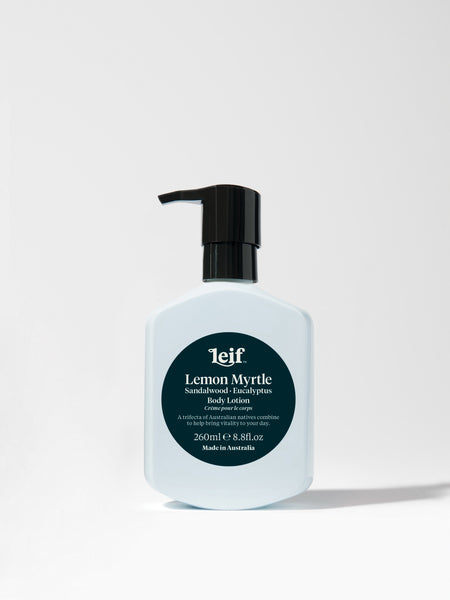 Leif - Lemon Myrtle Body Lotion with Sandalwood and Eucalyptus - 260ml