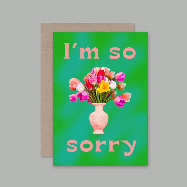 AHD greetings cards - I'm so Sorry