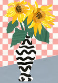 Emily Green - Sunflower Collage A3