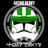 Image of Phase II 442nd Heavy Decals