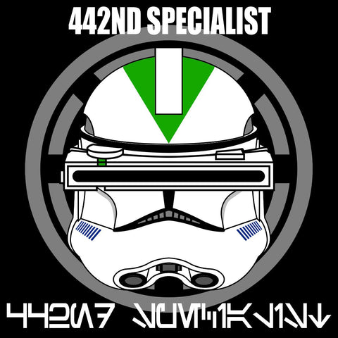 Phase II 442nd Specialist Decals