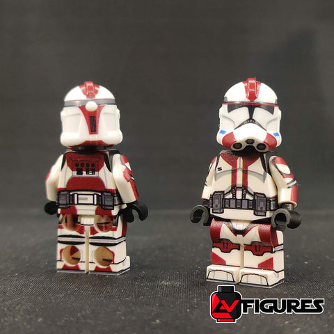 Printed 91st Anaxes Trooper Figure