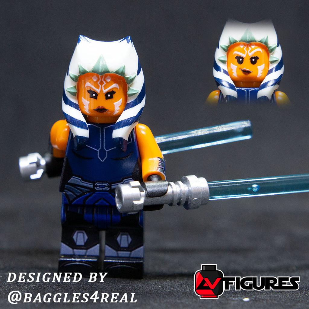 Season 7 Ahsoka Printed Figure