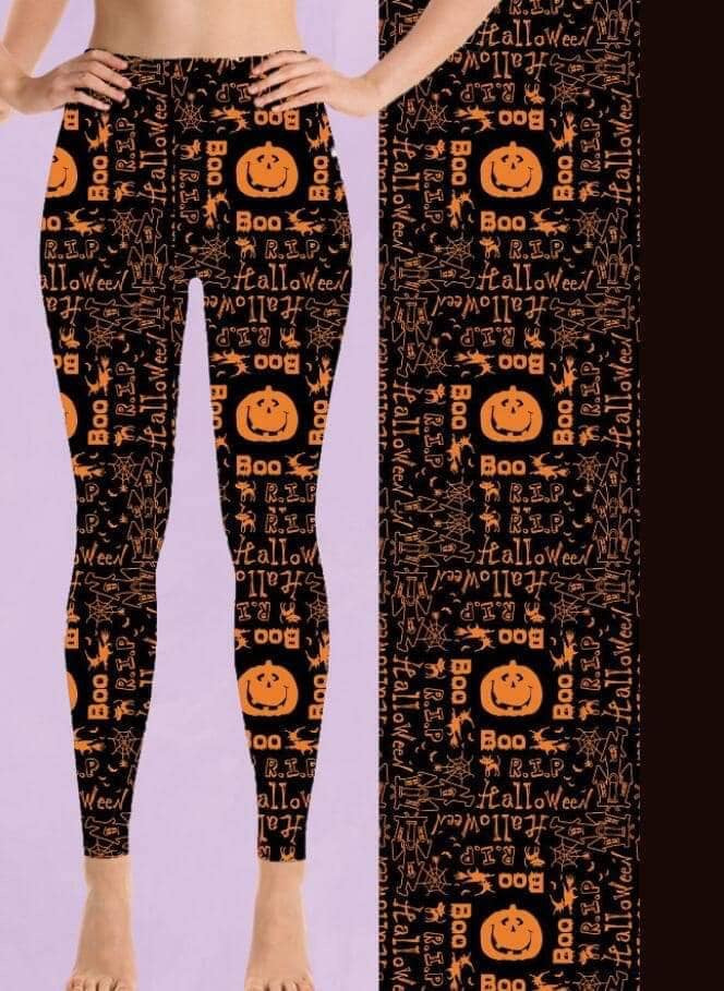 Pumpkin/Boo leggings