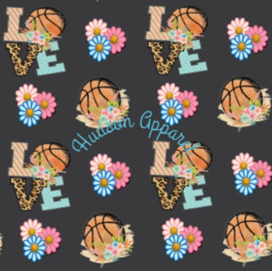 Basketball Love Custom yoga