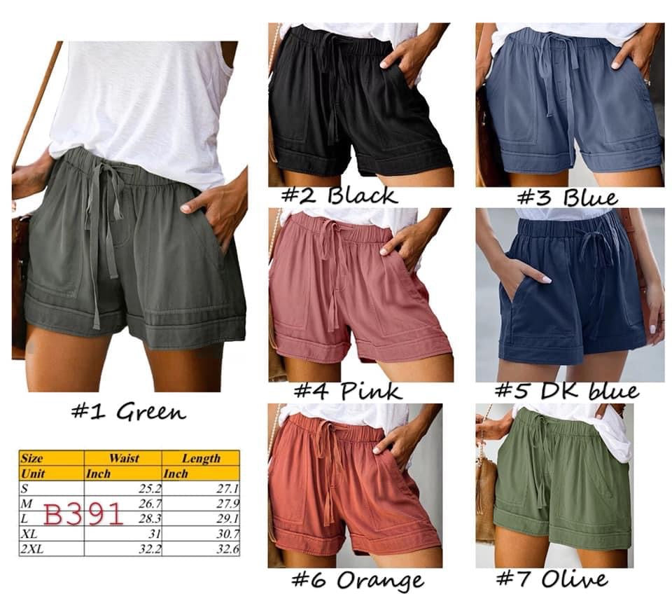 Lounge shorts- in stock