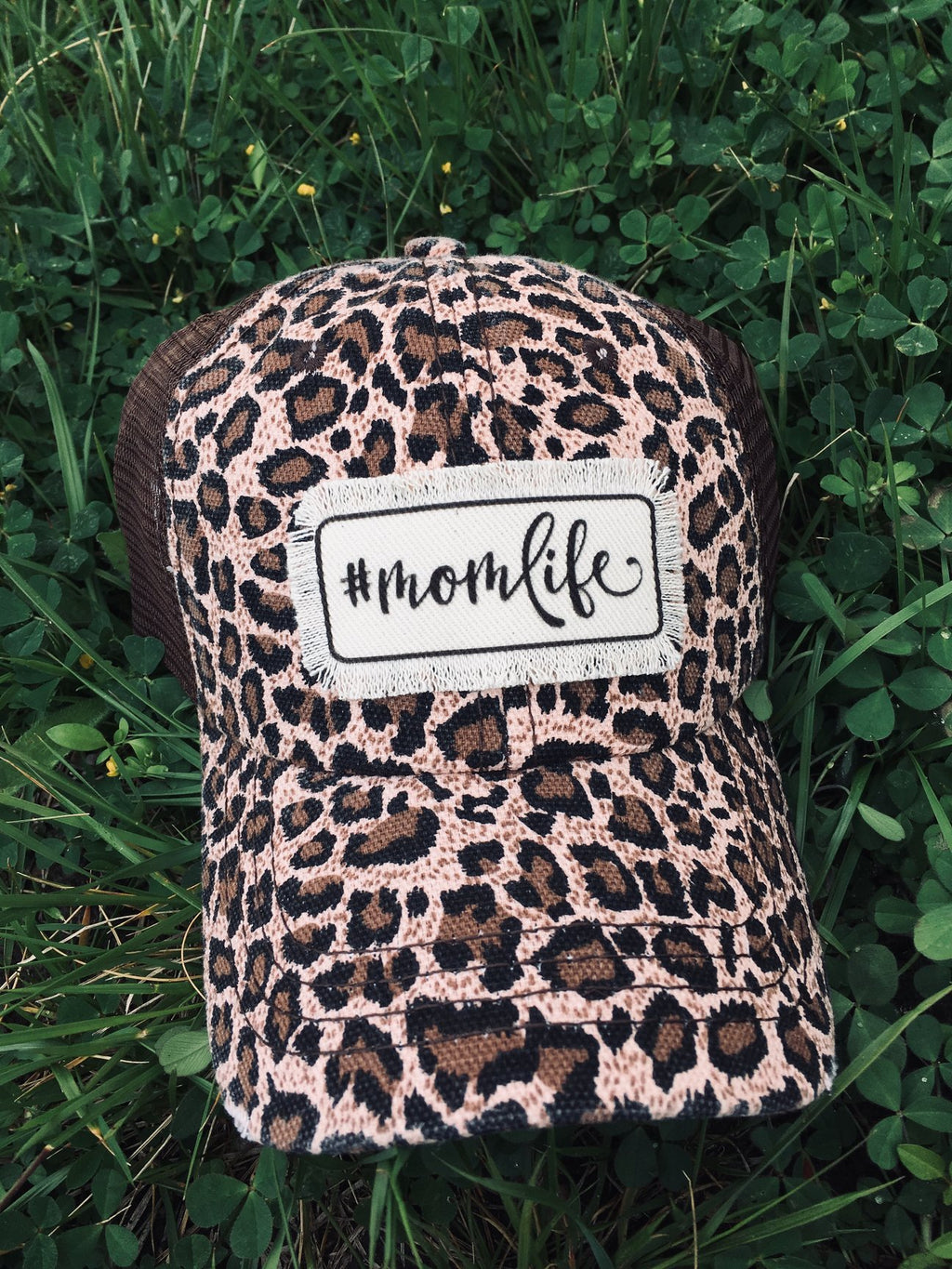 #momlife - Patch Hats