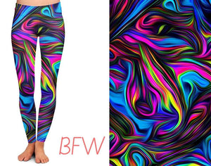Color Arousal w/pockets capri and legging