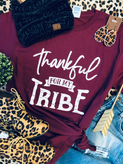 Thankful For My Tribe Tee