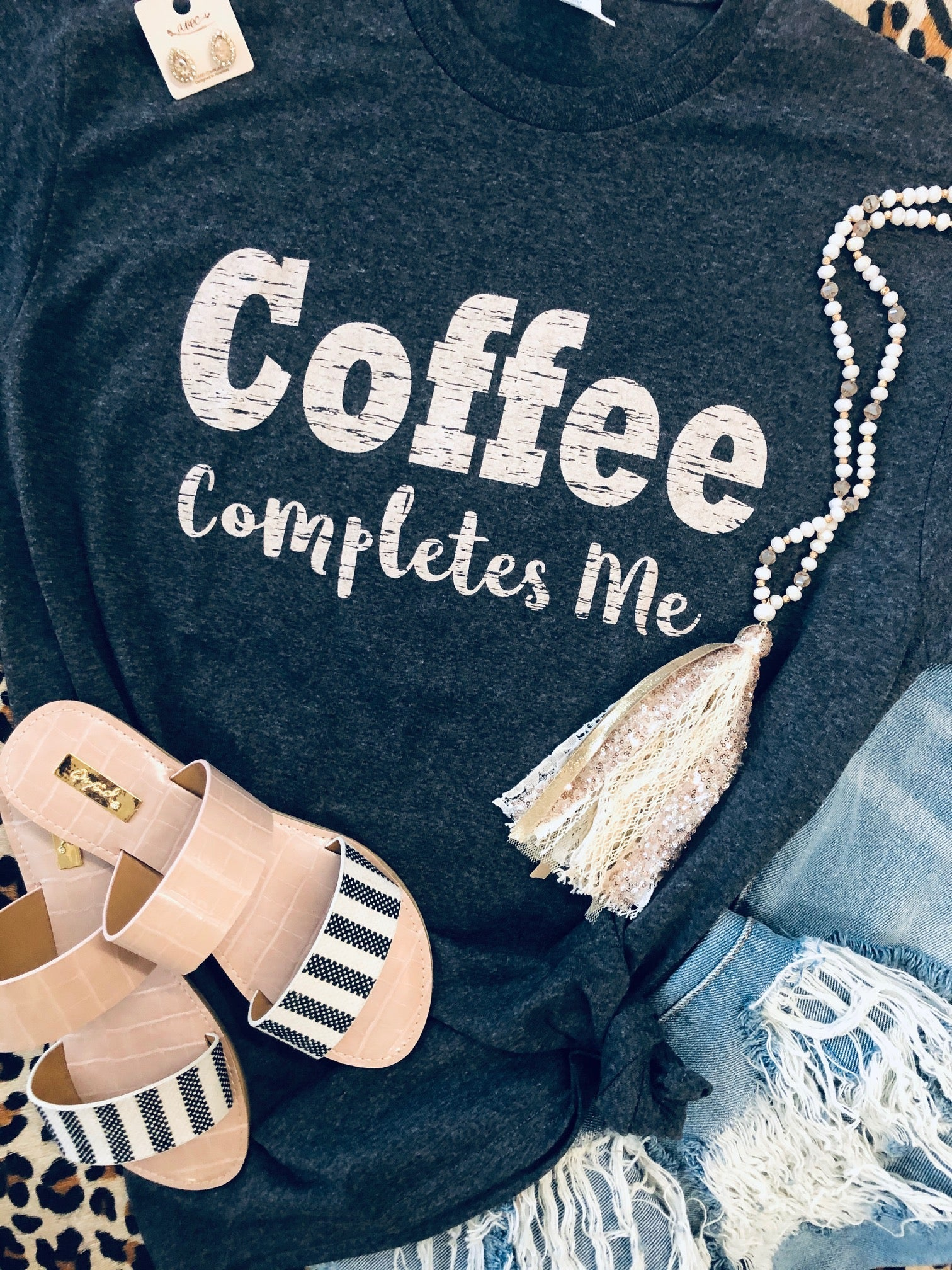 Coffee Completes Me Tee