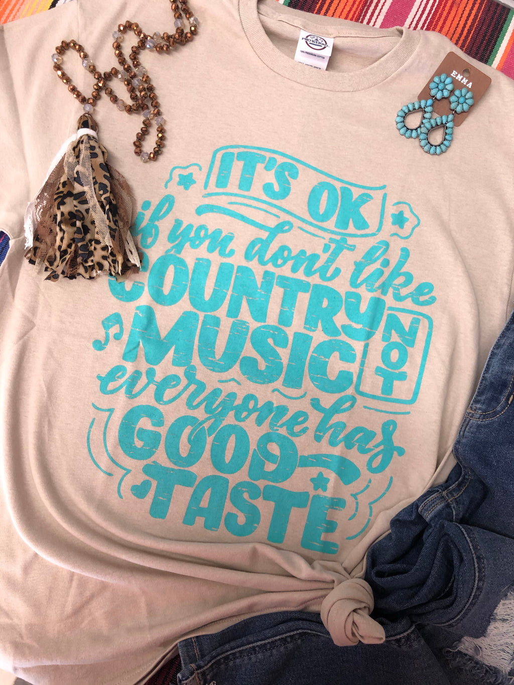 Country Music Taste Tee