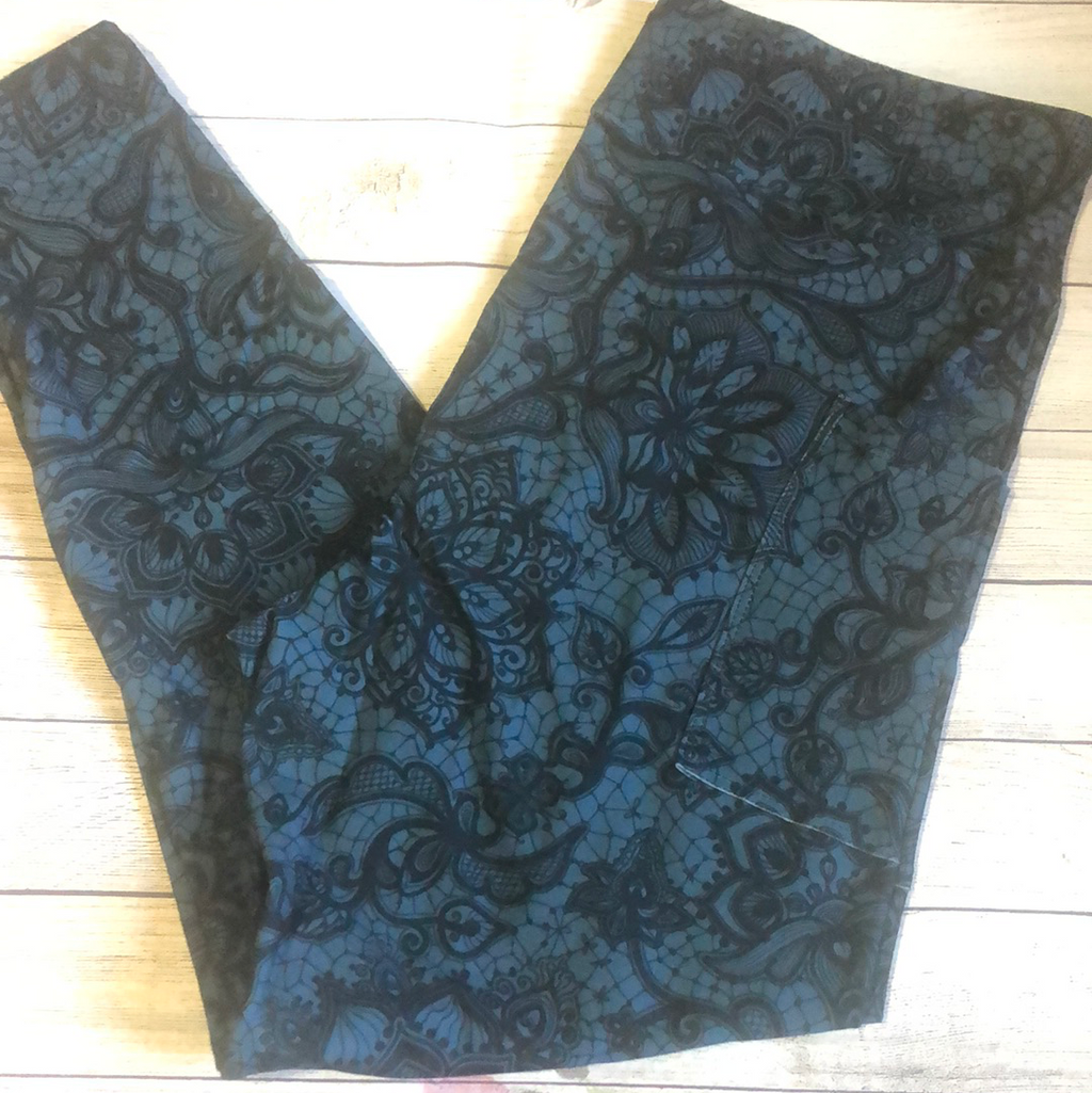 Mendhi Lace Pocket Leggings