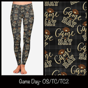 Game Day Football leggings
