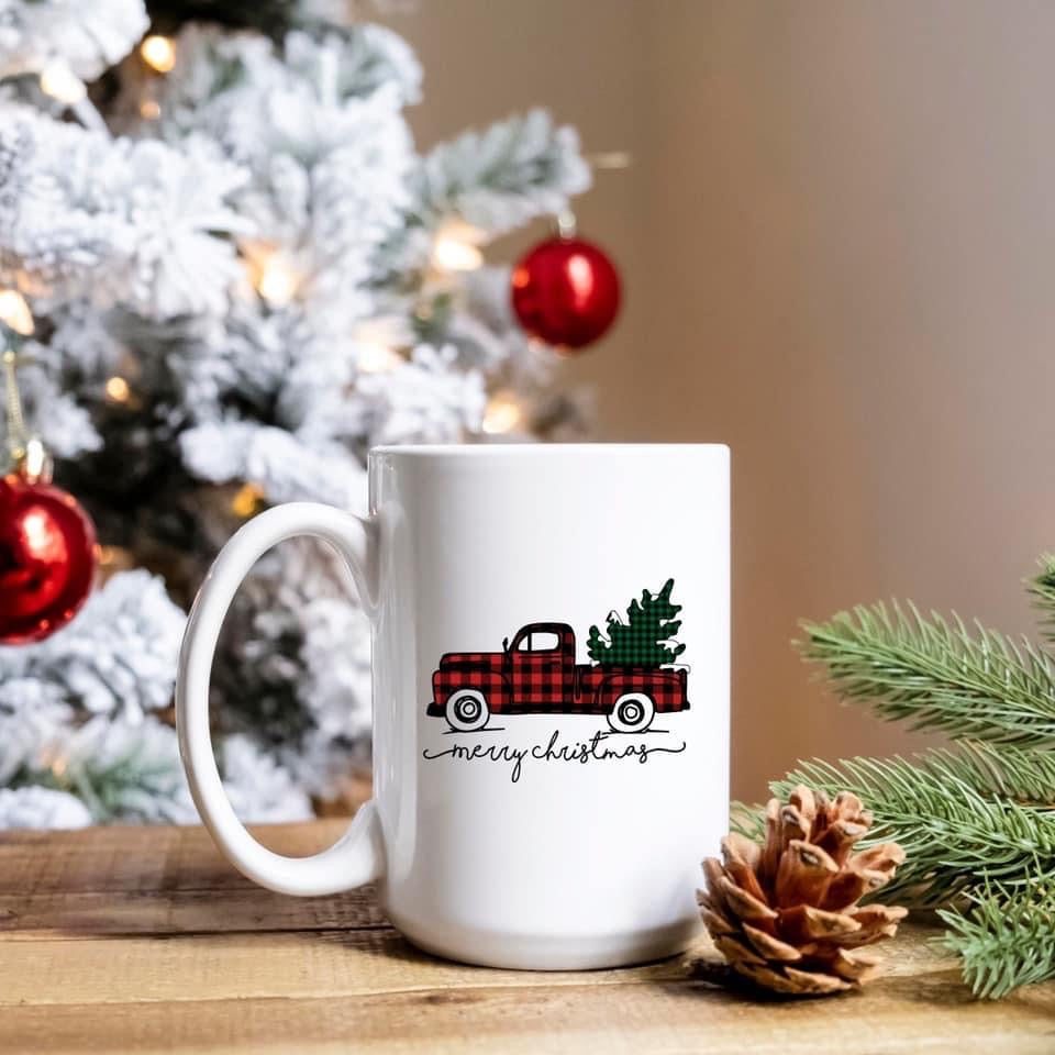 Merry Christmas - 15oz Ceramic Mug 🎄