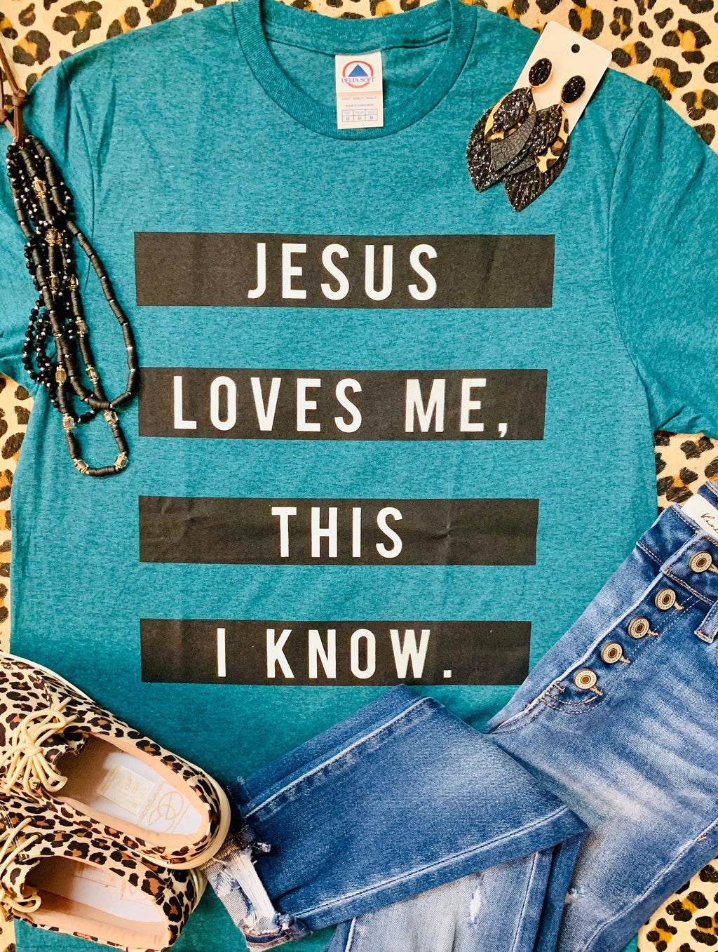 Jesus Loves Me This I Know Tee