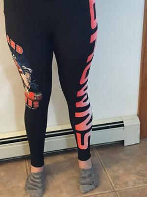 Custom Football leggings- Browns