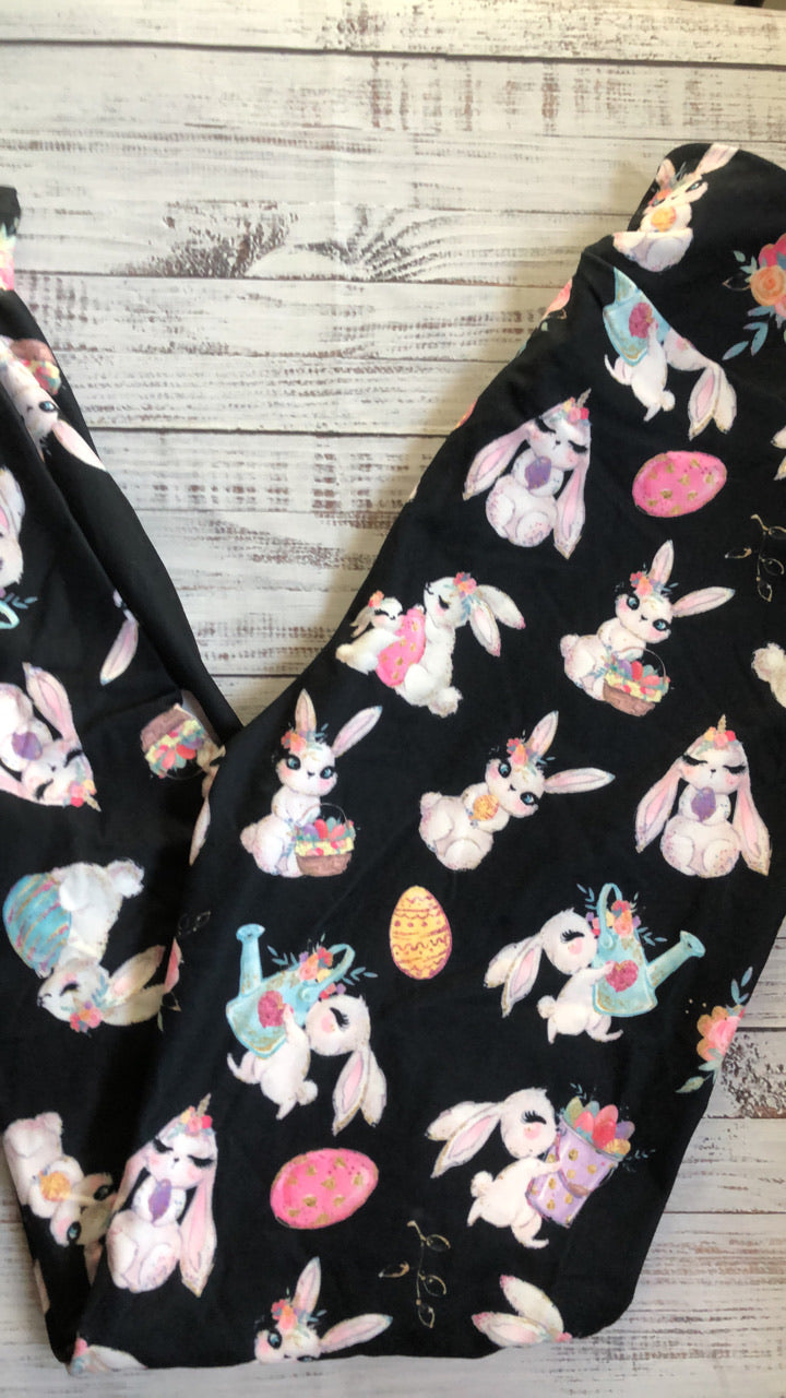 Easter bunny leggings in stock