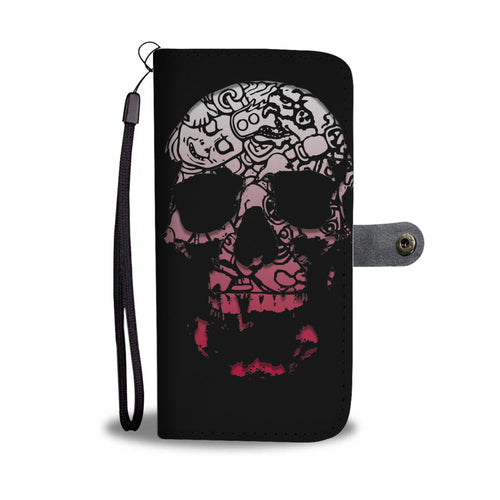 Mayan Skull Phone Wallet/Case