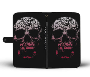 Mayan War Gods Skull Phone Wallet/Case
