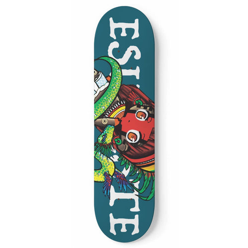 QSerpent Skateboard Wall Art