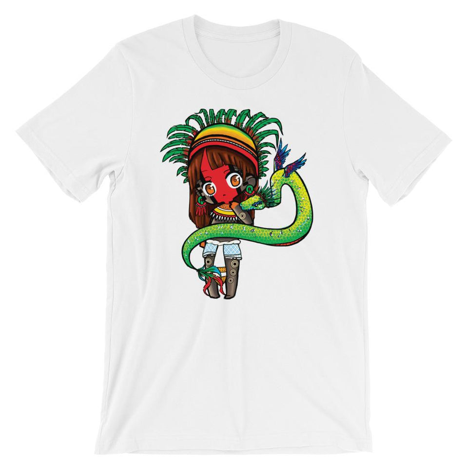 Chibi Aztec God Quetzal Serpent inspired by Aztec Empire Shirt
