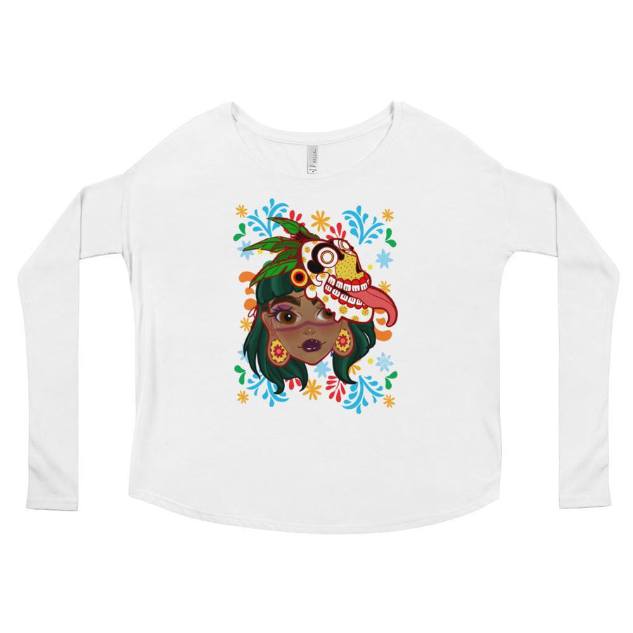 MICTLANTECUHTLI Ladies' Long Sleeve Tee