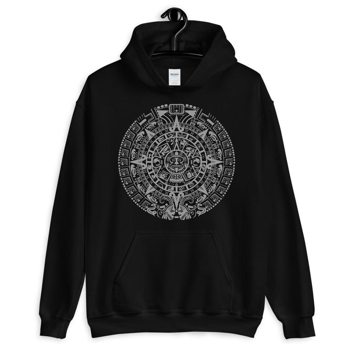 Aztec Calendar Hooded Sweatshirt