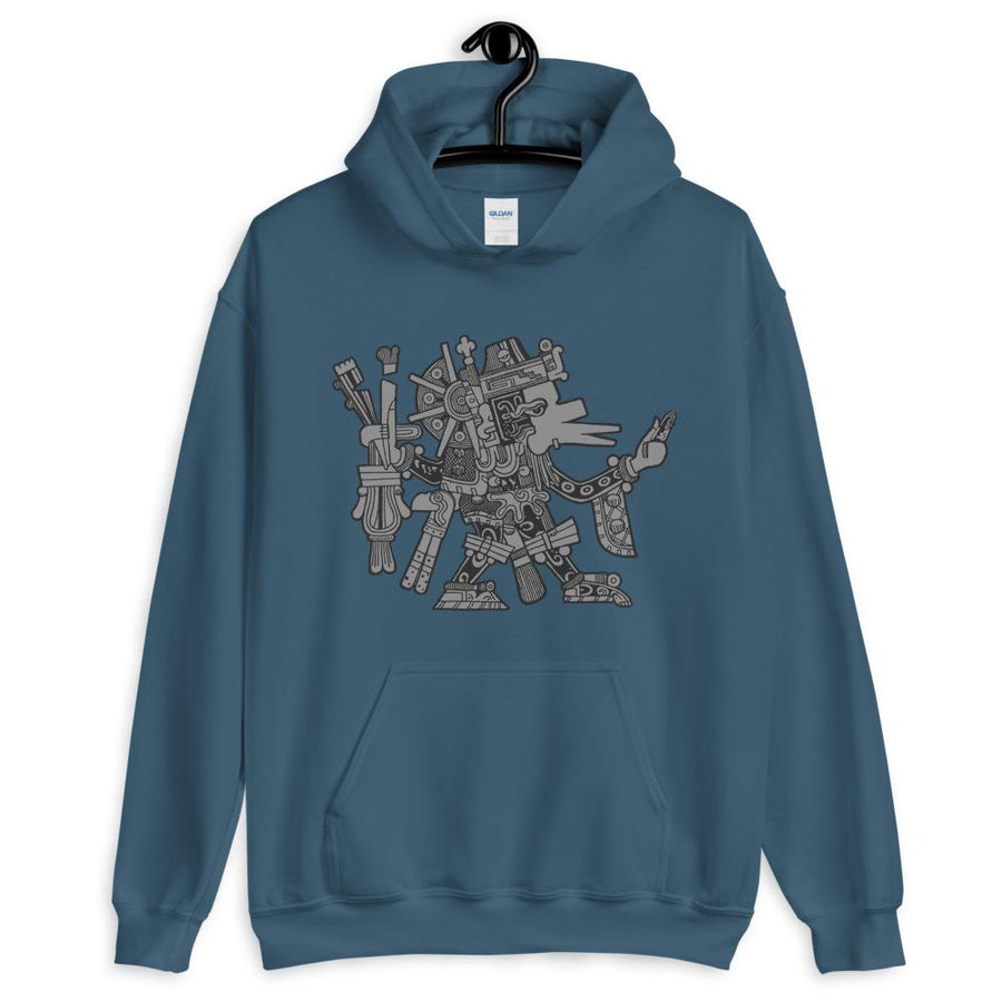 Aztec God Hoodie inspired by Aztec Empire