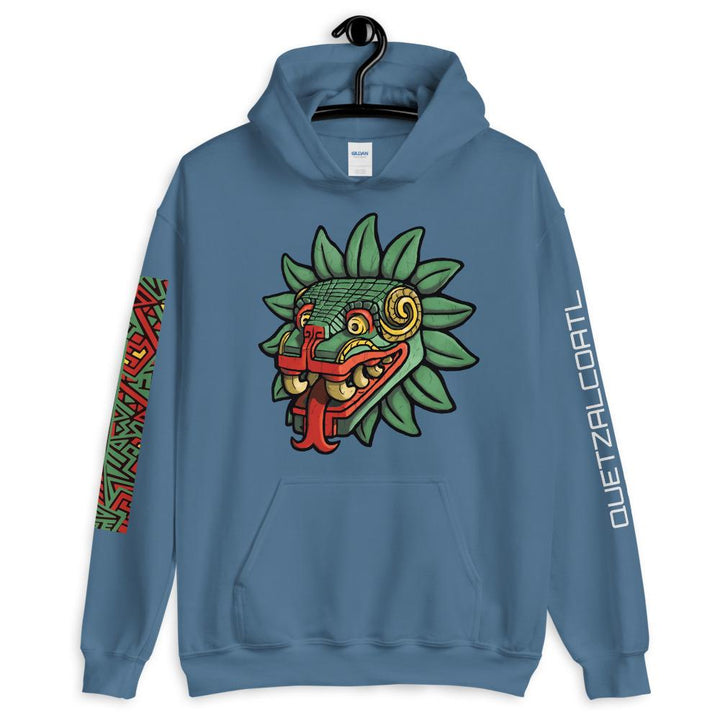 Aztec God Quetzalcoatl Serpent Sweatshirt