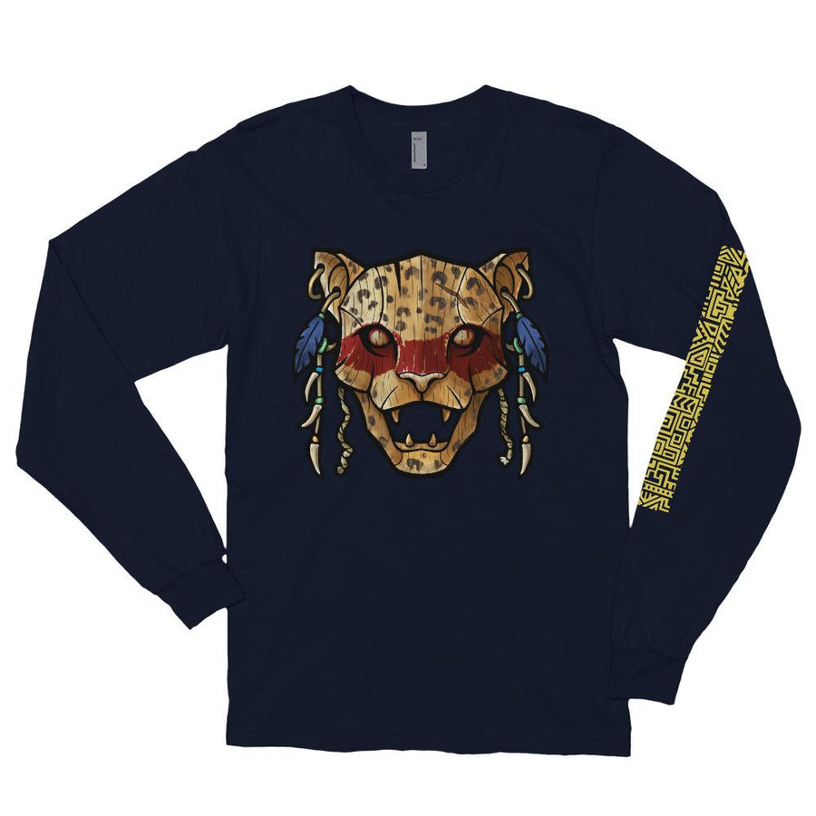 Ocēlōtl (Jaguar) Warrior Long Sleeve