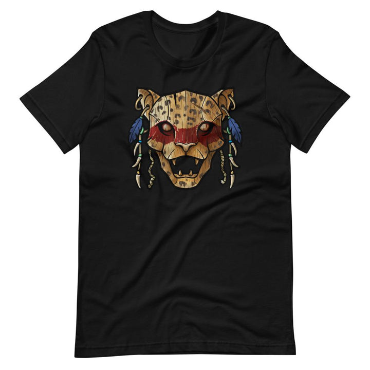 Ocēlōtl (Jaguar) Warrior T-Shirt