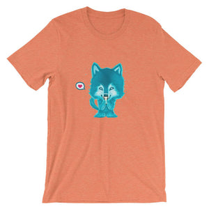 Spirit Kawaii Wolf Love Shirt