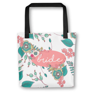 Bride Tote Bag | Joyful Flowers Exclusive to Oh, Yes! Designs