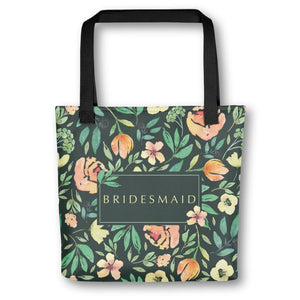 Bridesmaid Tote Bag | Italian Garden Exclusive to Oh, Yes! Designs