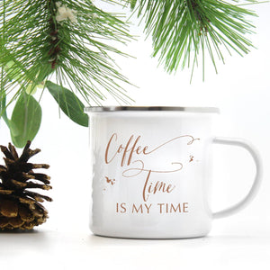 Campfire Coffee Mug | Coffee Time is My Time Exclusive to Oh, Yes! Designs