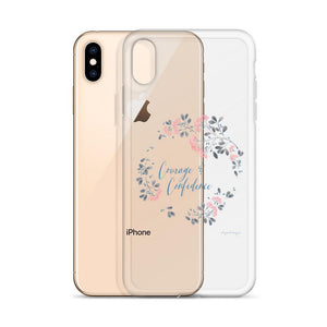 Courage & Confidence iPhone Case | Inspiration on Your Phone Exclusive to Oh, Yes! Designs