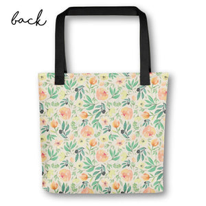 Floral Tote Bag for Bridesmaids | Italian Garden Exclusive to Oh, Yes! Designs