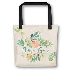 Floral Tote Bag for Flower Girl | Italian Garden Exclusive to Oh, Yes! Designs