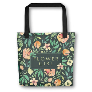 Flower Girl Tote Bag | Italian Garden Exclusive to Oh, Yes! Designs