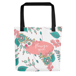 Flower Girl Tote Bag | Joyful Flowers Exclusive to Oh, Yes! Designs