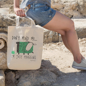 Frogging | Tote bag Exclusive to Oh, Yes! Designs