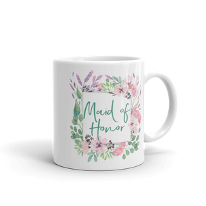 Gift Mug for Maid of Honor | Lilac & Blush Exclusive to Oh, Yes! Designs 11oz