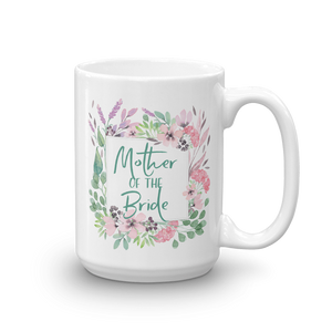 Gift Mug for Mother of Bride | Lilac & Blush Exclusive to Oh, Yes! Designs 15oz