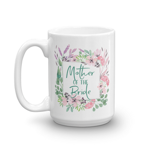 Gift Mug for Mother of Bride | Lilac & Blush Exclusive to Oh, Yes! Designs